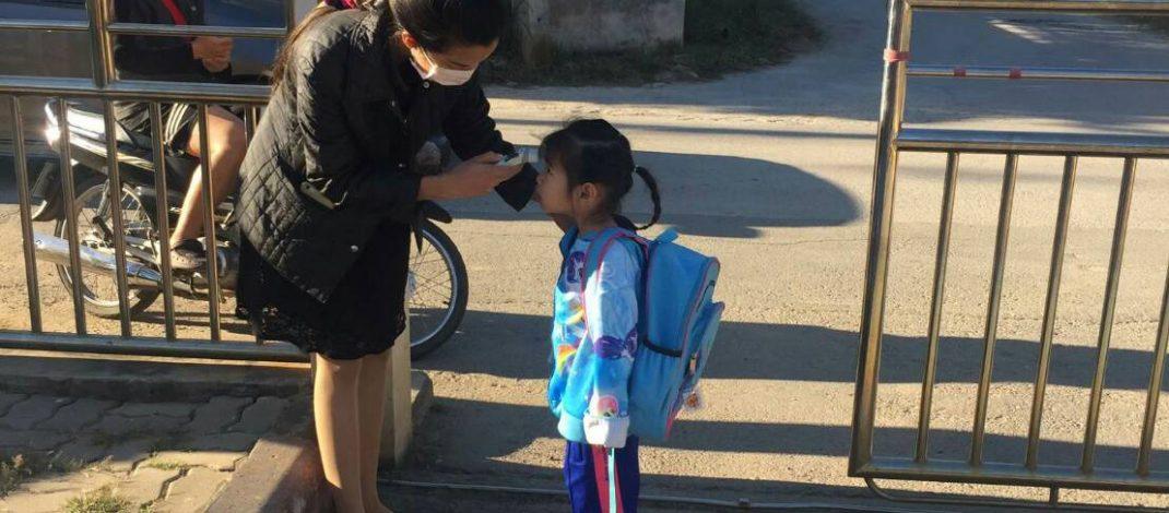 """""""โรคไข้หวัดใหญ่ระบาด"""" เทศบาลนครเชียงใหม่ เฝ้าระวังป้องกันควบคุมโรคไข้หวัดใหญ่ในโรงเรียน และสถานรับเลี้ยงเด็ก สังกัดเทศบาลนครเชียงใหม่"""