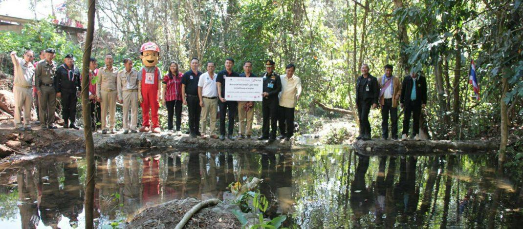 """องค์การป่ารักษ์น้ำแห่งประเทศไทยร่วมกับอำเภอแม่แจ่ม จัดงาน """" สานต่อพระราชปณิธาน สร้างฝายชะลอน้ำสู่ความยั่งยืน """""""