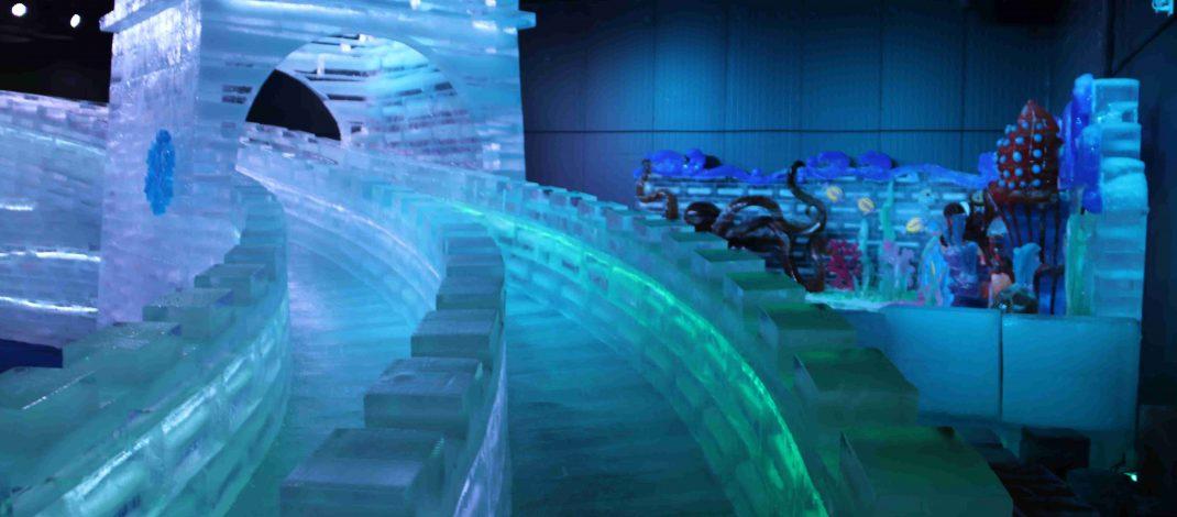 เปิดแล้วอาณาจักรน้ำแข็ง Ice Carving ที่ใหญ่ที่สุดในประเทศไทย ณ ศูนย์การค้าพรอมเมนาดา เชียงใหม่